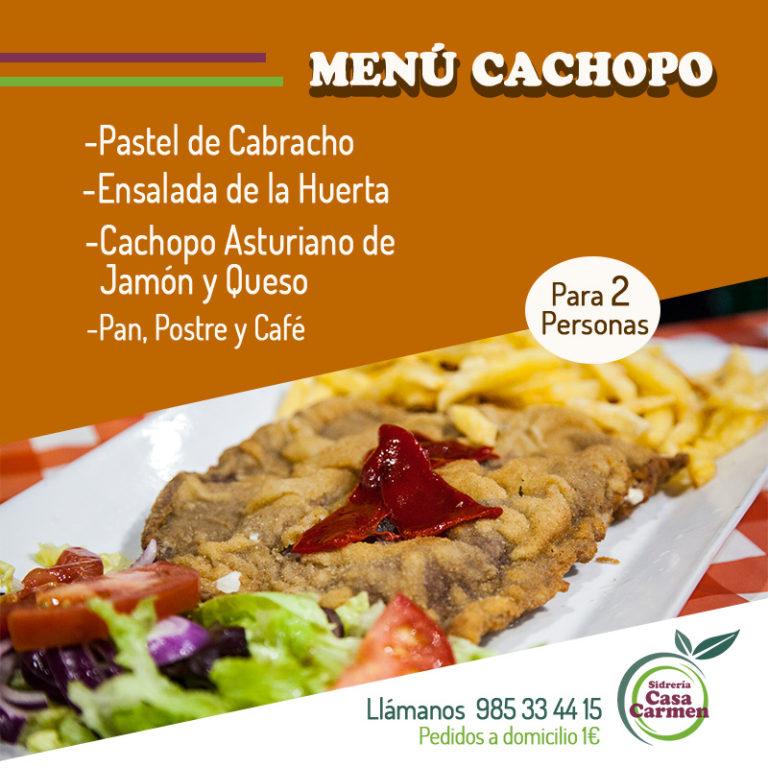 Imagen producto Menú Cachopo