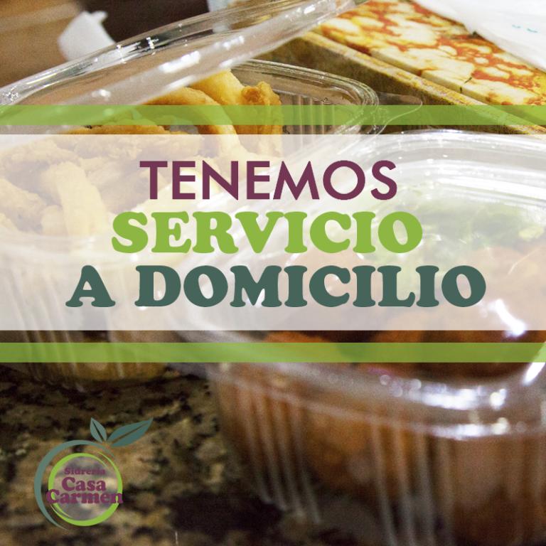Imagen Tenemos Servicio a Domicilio